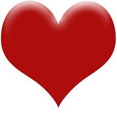 corazon rojo de amor