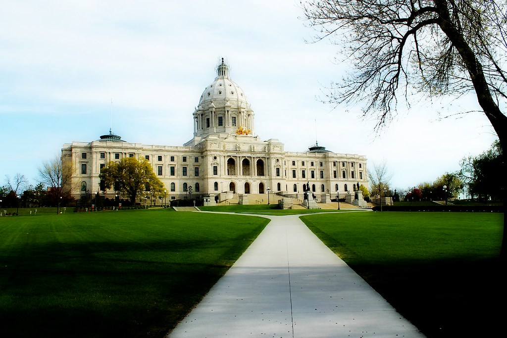 Minnesota State Capital - St. Paul, MN