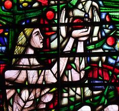 Eve takes an apple by John Hayward