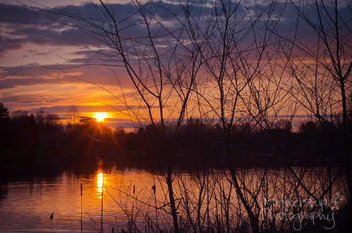 Manotick sunrise on the Rideau River