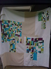 Design Camp improv quilt top