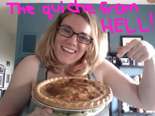 The quiche that killed my spirit