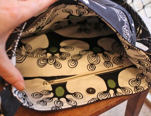 Maria's bag - inside