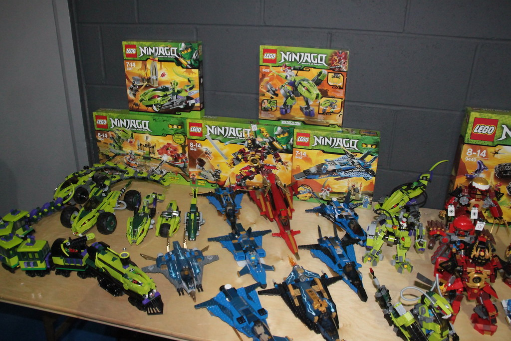 New Ninjagos together with prototypes