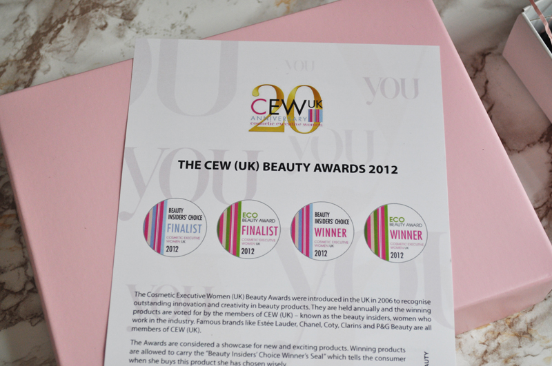 latest in beauty cew 2012 box 8