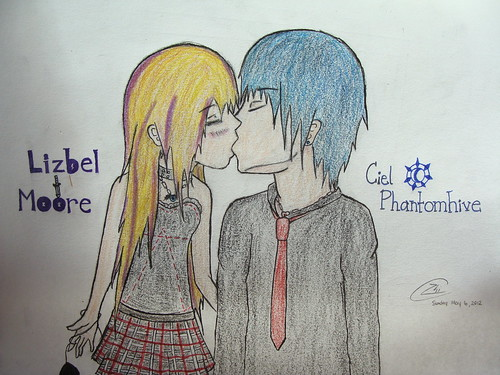 Lizzy and Ciel :3