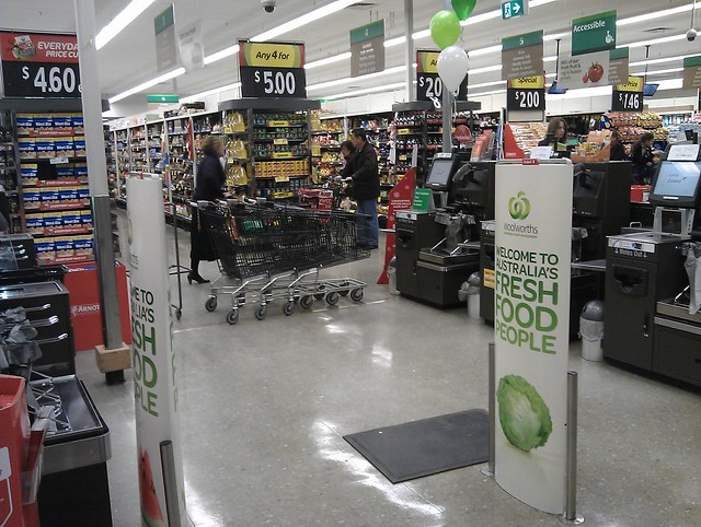 All self serve checkouts down, down