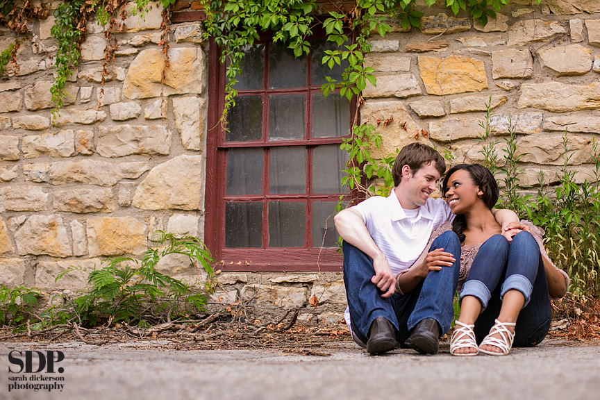 Parkville Missouri engagement photography