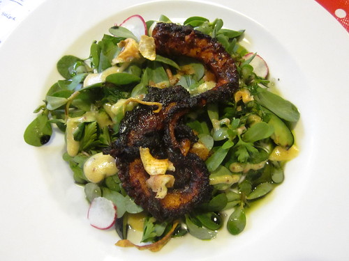 grilled octopus salad
