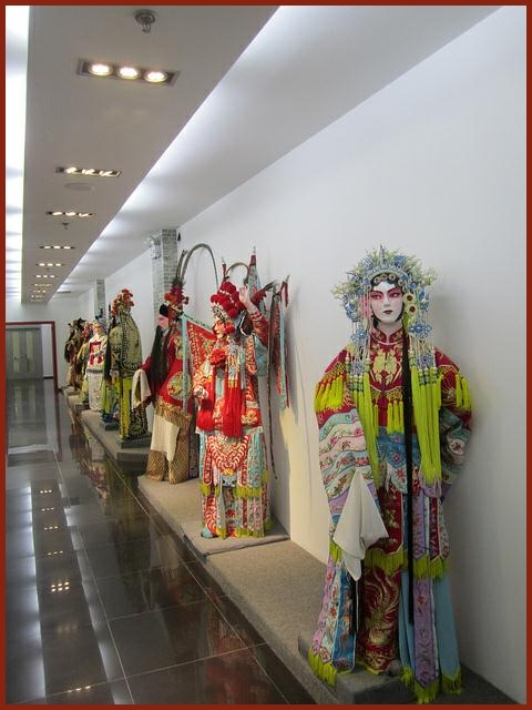 Opera costumes at the Beijing Opera School