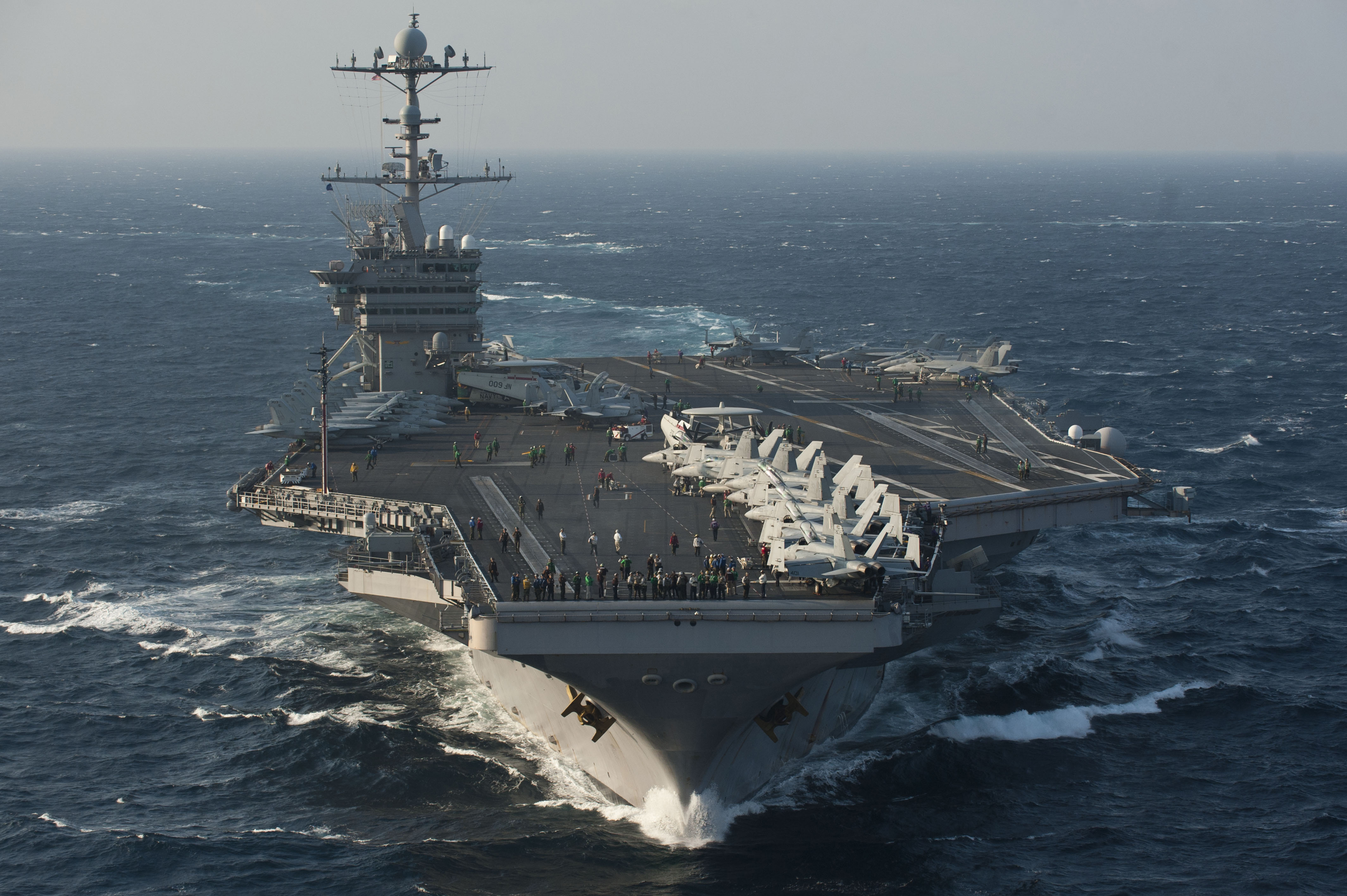 George Washington Csg Operates In Yellow Sea Commander