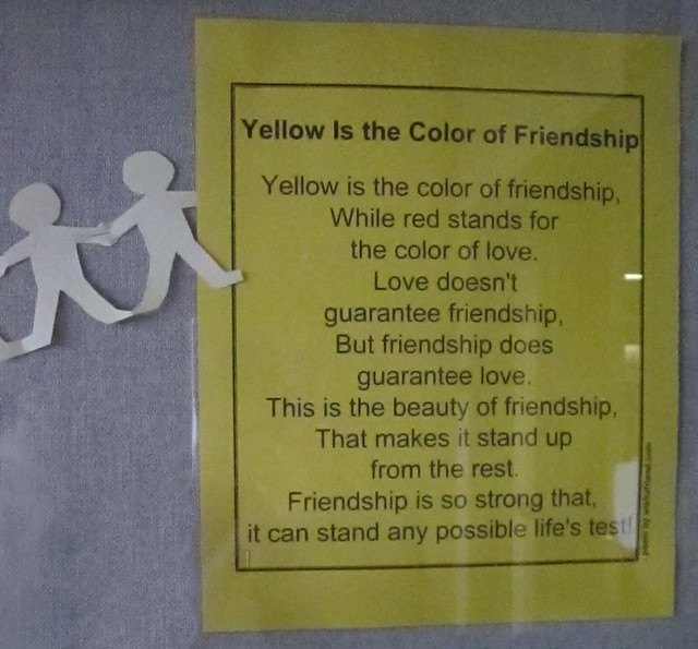 The Color Of Friendship Poem From Wwwwishafriendcom