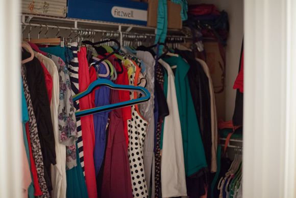 FFFW - Closet after packing