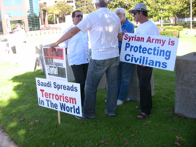 Pro-Assad Rally in Los Angeles organized by IAC | 30 June 2012