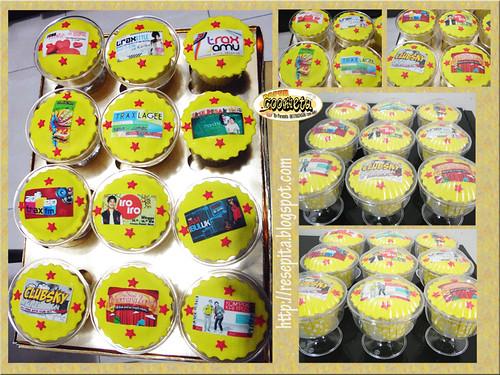 Trax FM Radio Anniversary Cupcakes