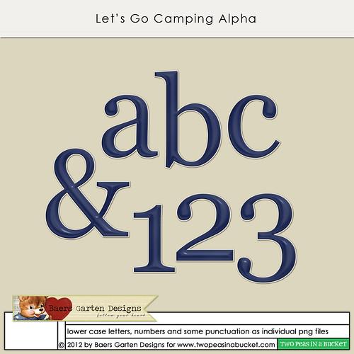 Let's Go Camping Alpha