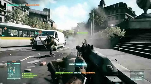 Battlefield 3 Update To Add New Match Features