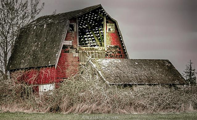 An Abandoned Barn Mt Vernon Flickr Photo Sharing