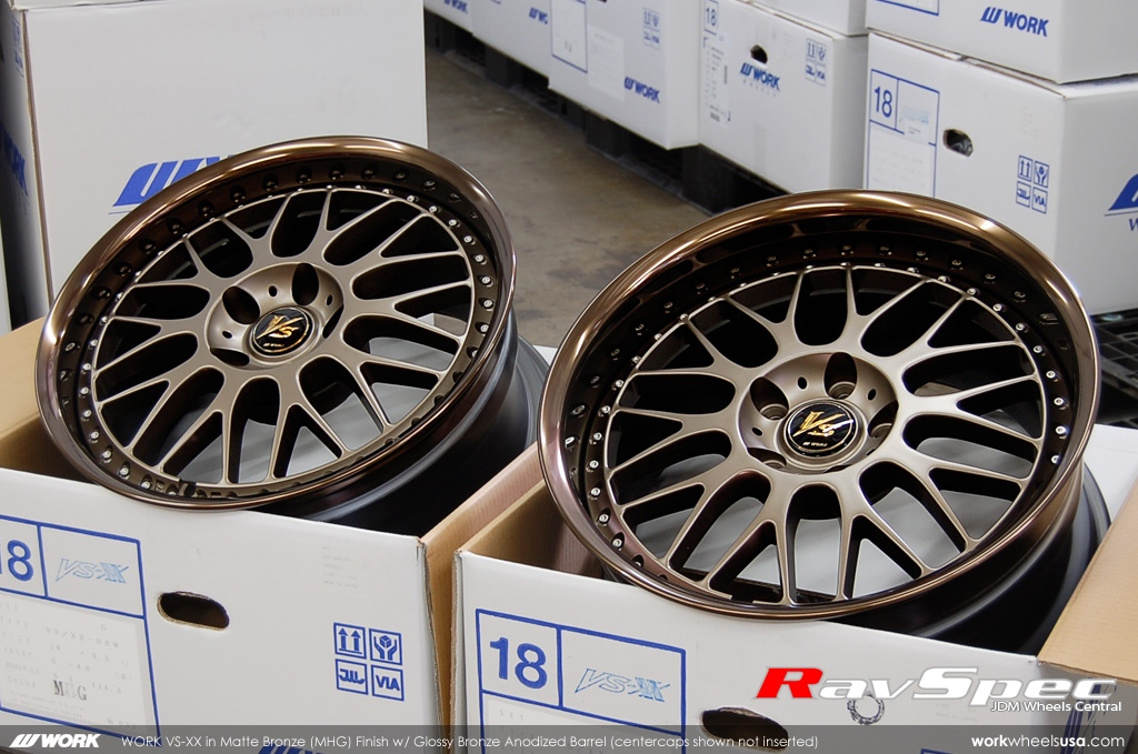 WORK Wheels *** Fully Custom Wheels // Check out some of the custom color we done - ClubLexus ...