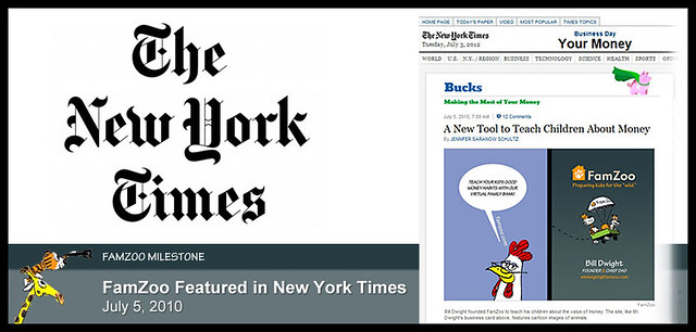 July 5, 2010: FamZoo Featured in New York Times