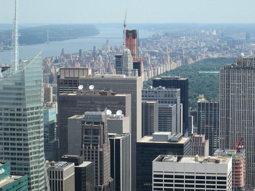 Vistas desde la Azotea del Empire State Building, NYC. Nueva York