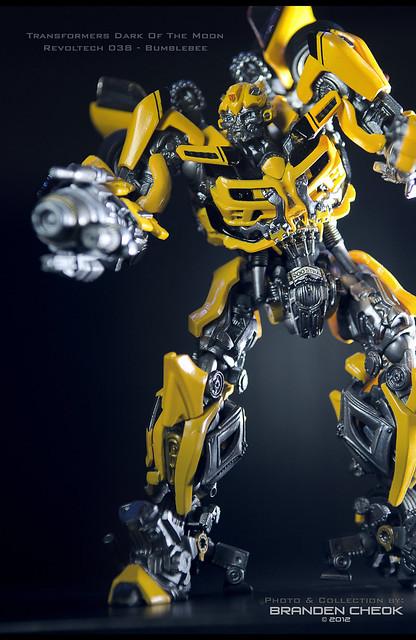 Sci Fi Transformer : Transformers dotm revoltech sci fi bumblebee flickr