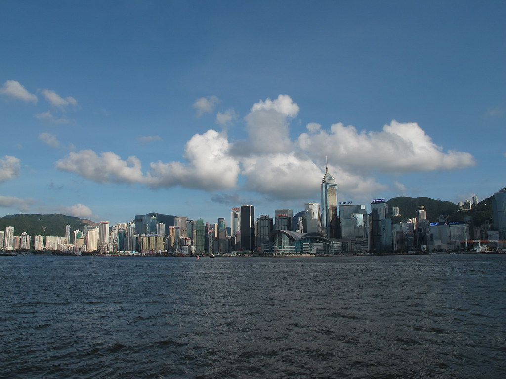 Hong Kong des de l'Star Ferry (Hong Kong, Xina)