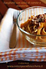 Spaghetti alle carote