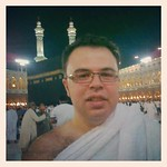He's in Mecca now. Alhamdulillah!