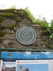 Photo of Lismore Castle and Robert Boyle green plaque