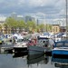 The marina at South Dock, Rotherhithe