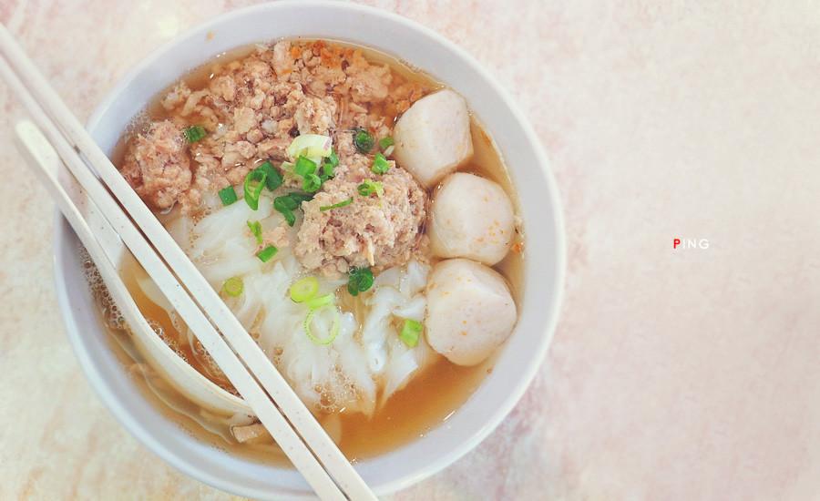 七廊粿条汤