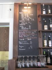 Bottle beer menu at Gaasa
