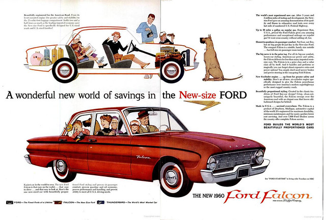 1960 Ford Falcon 2-page advertisement