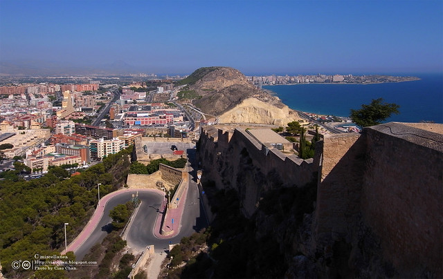 Hola Alicante~ 阿利坎特。地中海的熱度 Castillo de Santa Barbara 聖巴巴拉城   R1043663
