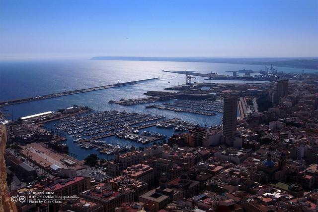 Hola Alicante~ 阿利坎特。地中海的熱度 Castillo de Santa Barbara 聖巴巴拉城   R1043674