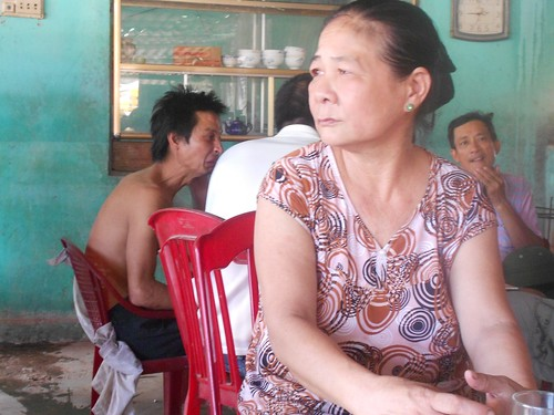 Nguyen Thi Cuc lost her foot in a 1966 US missile attack