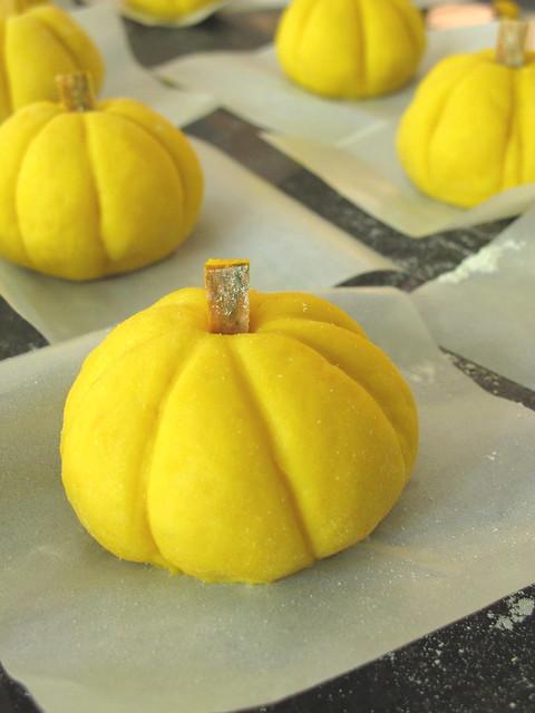 Nasi Lemak Lover Steamed Pumpkin Buns With Lotus Paste