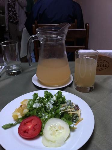 Lima (Perú) | Restaurante El Embrujo | Ensalada