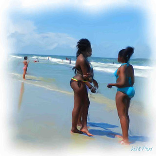 Beach Beauties_Painting