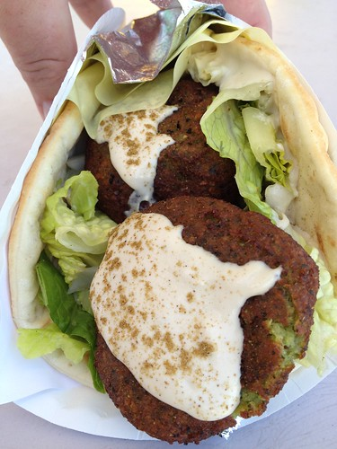 Falafel from Cleopatra's Kitchen