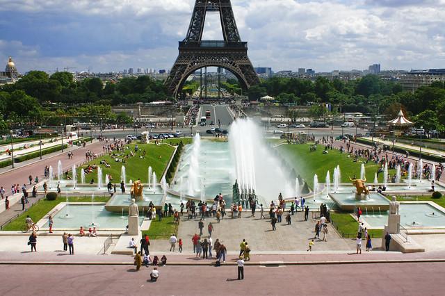 Jardins du trocadero flickr photo sharing for Jardin trocadero
