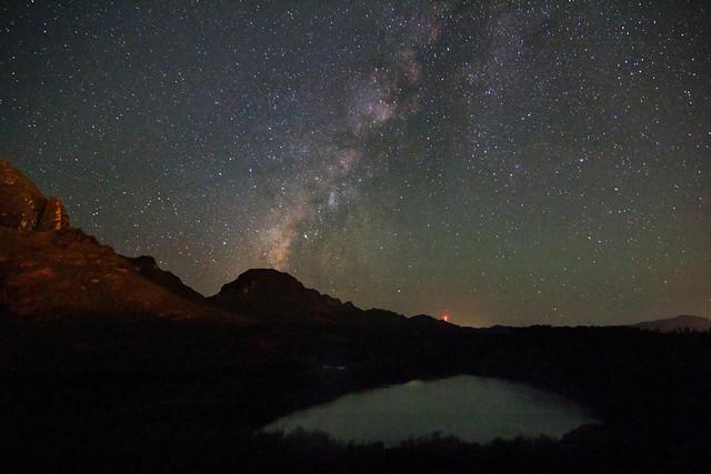 Milky Way over Alekoko Fishpond