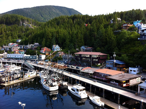 Ketchikan - Docking