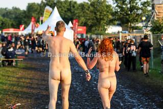 Wacken Fans nackt
