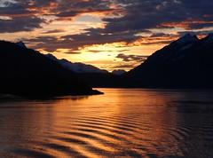 [フリー画像素材] 自然風景, 山, 海, 朝焼け・夕焼け, 風景 - アメリカ合衆国 ID:201208112000