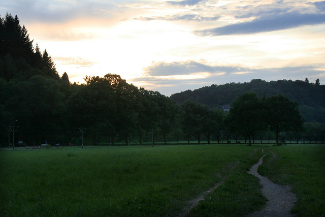 Sunset in Freiburg