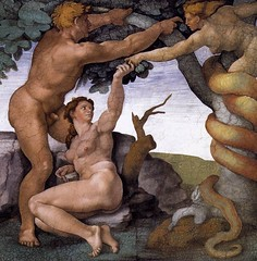 The Temptation by Michelangelo
