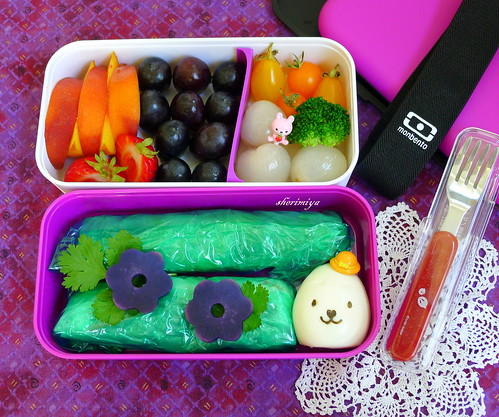 Chicken Rice Wraps Monbento by sherimiya ♥