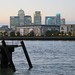 Canary Wharf from old Deptford